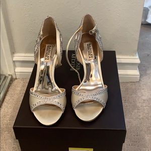 Badgley Mischka evening / bridal shoes